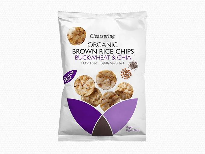 Bio Barnarizs Chips - Hajdina- és Chiamaggal - Sunrice..